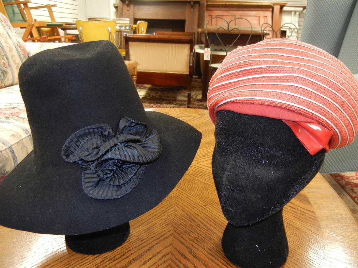 vintage hats props